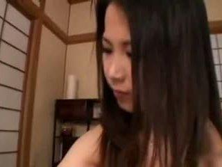Aya nakano-hand job breastmilk healing by tom
