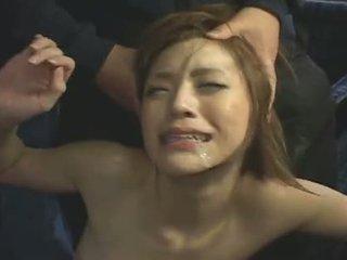 japonec, tvárový, gangbang