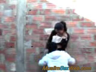 Arabian girl fucked outdoor