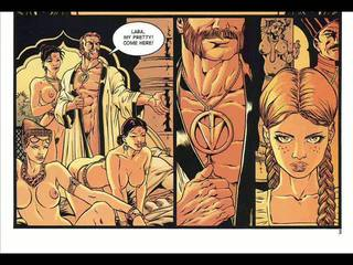 Hardcore seks strip in fantasy suženjstvo strip