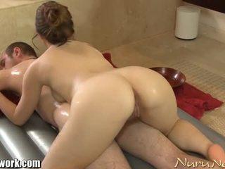 Brandon nash gets nuru masáž od angelina mylee