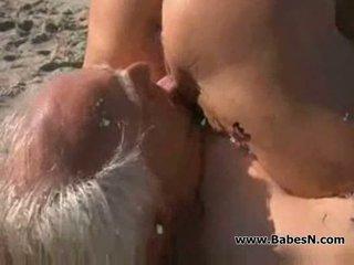 fucking, beach, dad