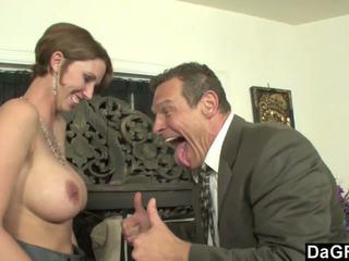 Hot sekretaris mesum for some austrian jago