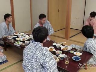 אסייתי geisha stripped על ידי dudes, חופשי בוגר פורנו וידאו 6f