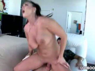 great brunette, görmek big boobs more, blowjob