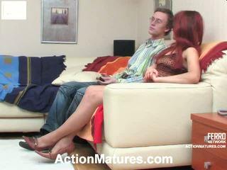 Alana và tobias marvelous mẹ onto video hành động
