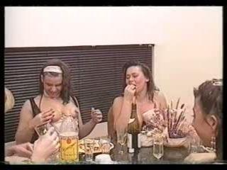 rubias, lesbianas, vendimia