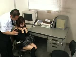 brünette, japanisch, voyeur