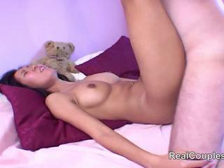 Posh mann knulling hans thai brud, gratis hd porno 3a