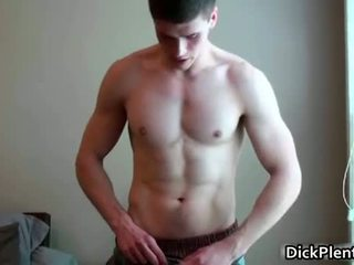 Awesome homo dude gets naked for the cam