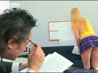 Sesso lesson con arrapato insegnante