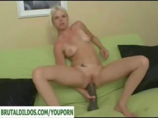 Raksasa kejam dildo/ alat mainan seks pantat/ punggung gaping