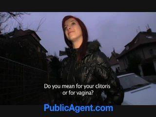 צ'כית ג'ינג'ית goes בית עם the ציבורי agent