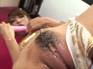Diildo sensations สำหรับ curvy ตูด asianaya sakuraba