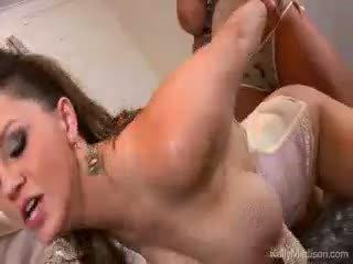 גדול titty lovers רטוב חלום זרע נכון עם kelly madison
