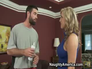bộ ngực to, xếp hạng blowjob, lớn babe