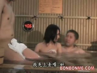 Wife fucked by amateur man in spa part...