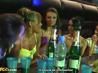 שתוי סקס striptease מסיבה ב the מועדון