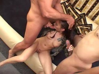 orális szex, deepthroat, kettős behatolás