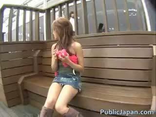 japansk, färsk voyeur någon, blandras nätet