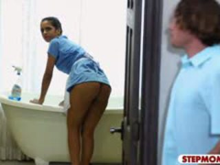Julia ann dhe abby lee brazil nxehtë trio në the dhomë gjumi