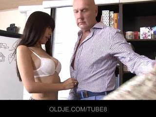 Young assian girl in a fuck lesson