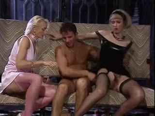 group sex, threesomes, vintage, german, hardcore