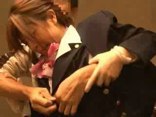 Vzduch hostess nahmatané podľa passenger