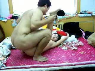 Chinese girlfriend home made sex tape Video