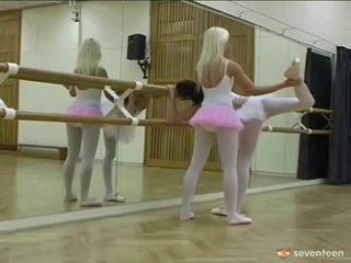 Sapphic ballet tüdrukud