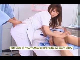 Akiho yoshizawa a partir de idol69 marota asiática enfermeira likes para fazer broche