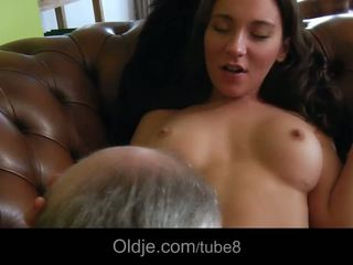 striptease, old young, cumshot