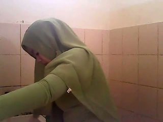 Шпигун gagal jilbab hijau