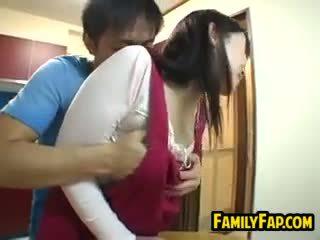 Szexi japán lépés anya