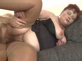 Bigtit Granny Suck and Fuck College Boy, Porn b3