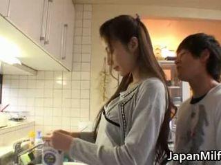 japonijos, grožis, motina