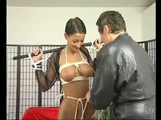 ブルネット 熟女 loves being tied アップ - julia reaves