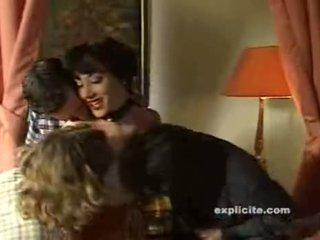 Elodie Cherie - French Milf Maid Gangbanged