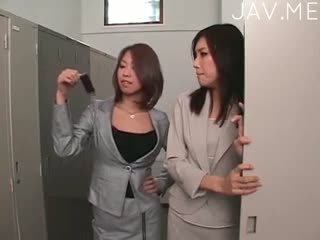 japanse, lesbisch, vingerzetting