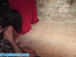 Sexy latino chick lapdance