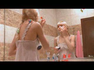 bathroom, exgirlfriend, rubbing