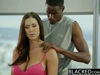 Blacked fitness mieze kendra lust loves riesig schwarz schwanz