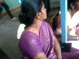 סטין משי saree aunty, חופשי הידי פורנו וידאו 61