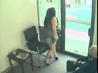 Mollig milf vrouw taped overspel haar echtgenoot met baas video-