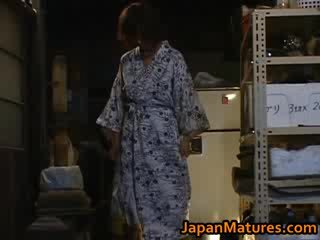 Chisato shouda elképesztő érett japán