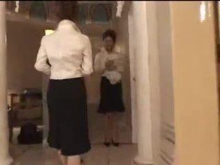 3 valge tüdrukud sisse jaapani massaaž parlor