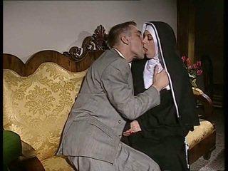 Tímida freira gets dela cu fodido e rosto spermed