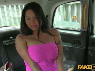 big tits, babes, taxi