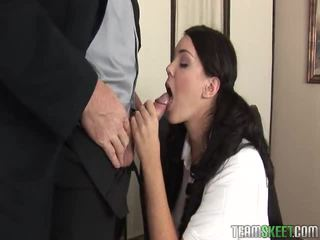 Exquisite peach alison tyler at the psychologist