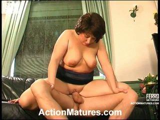 JuliAna And Donald Kinky Mom Inside Action
